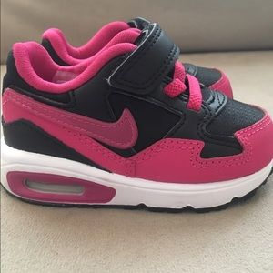 Nike Air Max ST (TDV) Pink/Black/Wht Toddler Sz 5