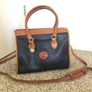 Vintage Dooney & Bourke large satchel