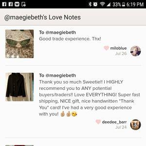Accessories - ** Posh Love Notes**😍😍😍😍