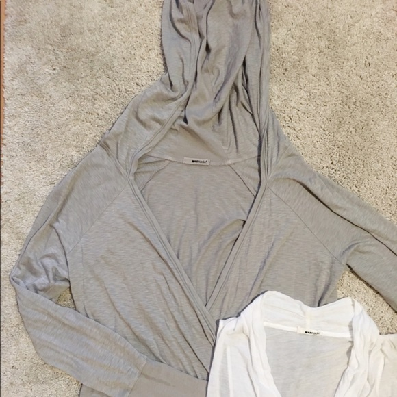 LAmade Tops - LAmade Cross Front Overlap Layering Shirt Set S