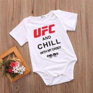 UFC Baby Onesie