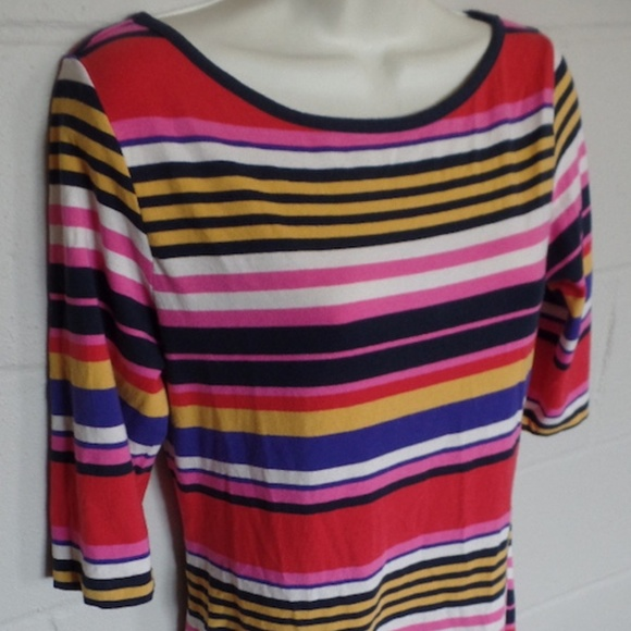 French Connection Dresses & Skirts - French Connection Multicolor Stripe Stretch Dress