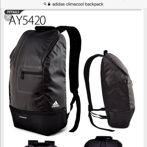 d60205505cae adidas Other - Adidas climacool backpack
