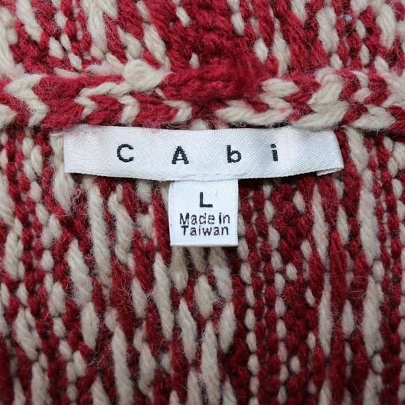 """CAbi - 💋 SOLD 💋 CAbi """"fair Isle Shrug"""" from Karen's closet on ..."""