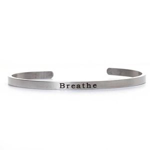 Jewelry - Breathe Stainless Steel Cuff Bracelet