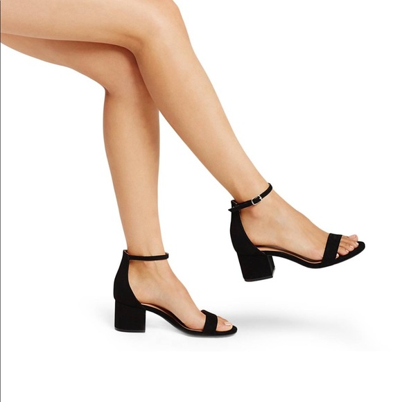 8e5e0d6ca6f Shoes - Low Block Heel Pumps with Ankle Straps - Merona