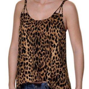 O'Neill Tops - Cheetah print shirt