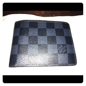 Louis Vuitton Damier canvas mens wallet