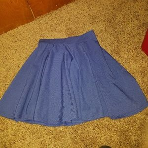 Dresses & Skirts - Blue skater skirt