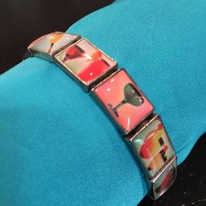 Jewelry - Cocktail-themed bracelet