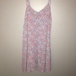 Floral patterned casual dress