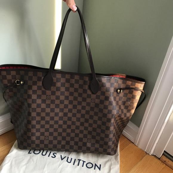 ce3c4d7ce6ef Louis Vuitton Handbags - Louis Vuitton Neverfull GM Damier Ebene Tote