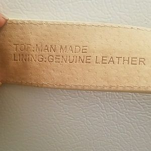 man-made belt Accessories - Man-made belt. Size large