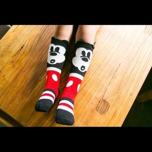 Other - Mickey Mouse Knee Socks