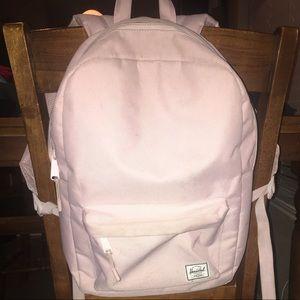 Herschel Supply Company Bags - Herschel Urban Outfitters light pink backpack c9d319b08b220