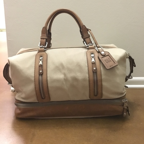 a5af0fddb824 Dolce   Gabbana Other - Dolce   Gabbana (D G) Canvas and Leather Duffel