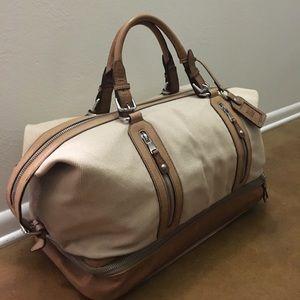 35c8548760b7 Dolce   Gabbana Bags - Dolce   Gabbana (D G) Canvas and Leather Duffel