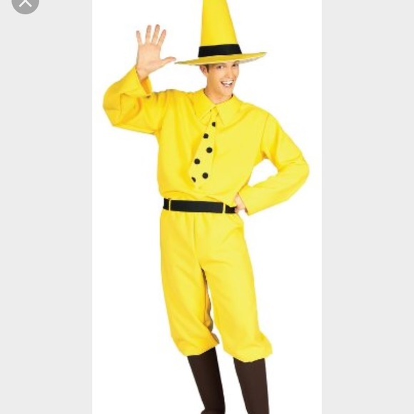 Other Man In The Big Yellow Hat Costume Poshmark