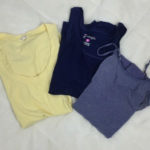 Tops - Layering Tees Set of 3 Size L