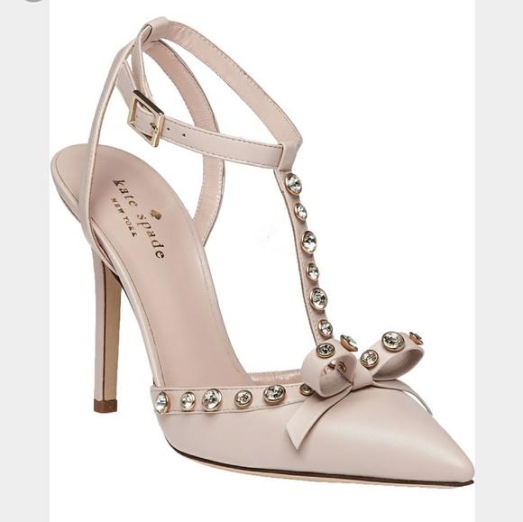 1a92e8142bd0 Kate Spade Lydia Heel Size 7.5 NWT