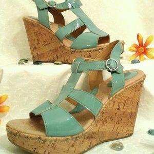 Wedge Sandal 4in heel