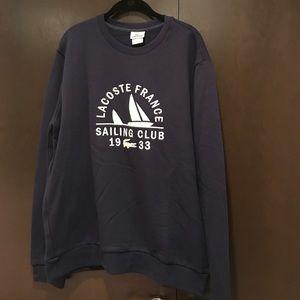 Club Sailing Sweatshirt Lacoste 1933 France dBexoC