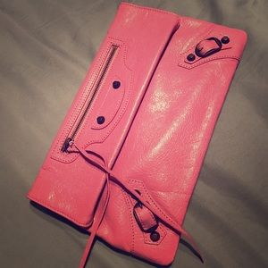 ... Balenciaga Handbag-Rose Berlingot f528a8107df14