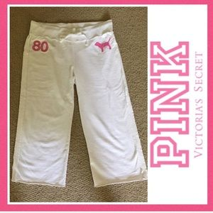 PINK Victoria's Secret RARE Capris, Like New, S