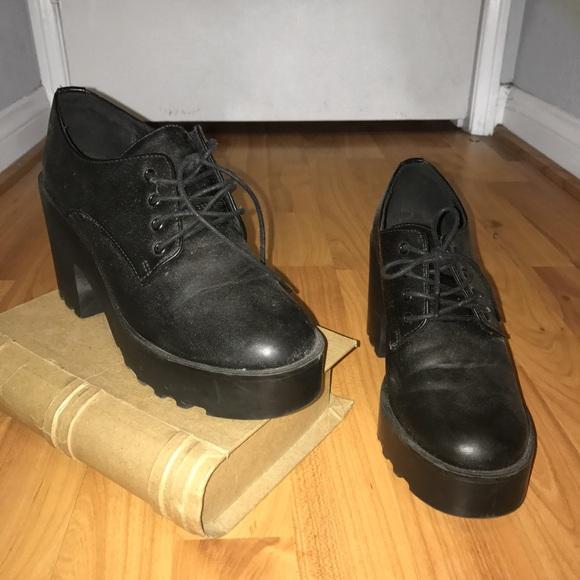 Hm Shoes Platform Sneakers Grunge Tumblr Vintage Poshmark