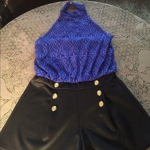 Women's one piece shorts
