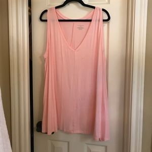 Lane Bryant Pink Swing Tank Top 22/24