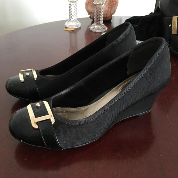 Alfani Shoes   Alfani Step N Flex Black