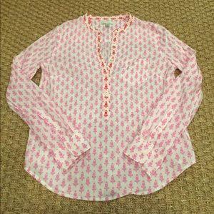 J.Crew cotton blouse size 4