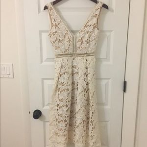Romeo and Juliet Couture woven lace dress
