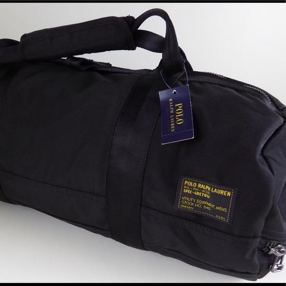 1f897e65cd5a Polo Ralph Lauren Military Duffel Bag Camo NWT