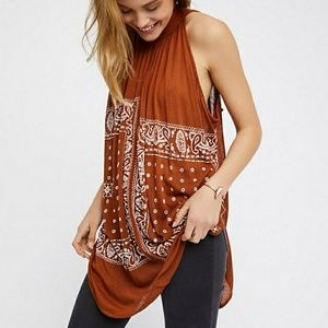 Free people new romantic good vibes top