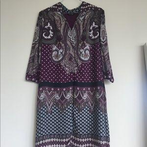 Massimo Dutti dress in purple
