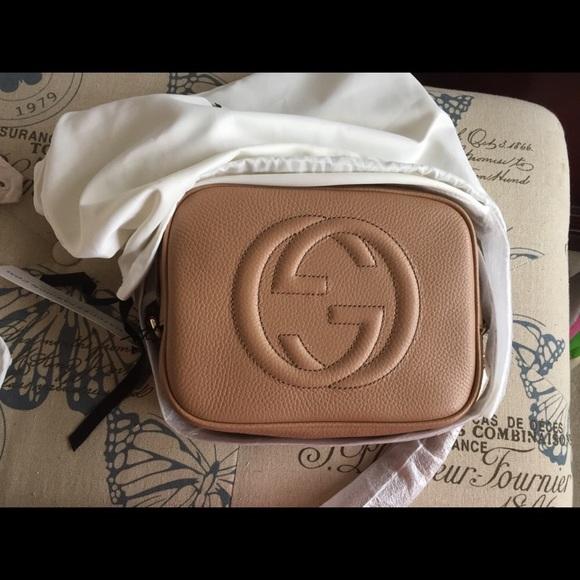 Gucci Handbags - Brand New GUCCI SOHO DISCO in Rose Beige