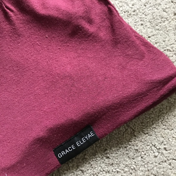 da6d3c5aa7c32 Grace Eleyae Accessories - Grace Eleyae satin-lined sleep cap (slap) wine  red