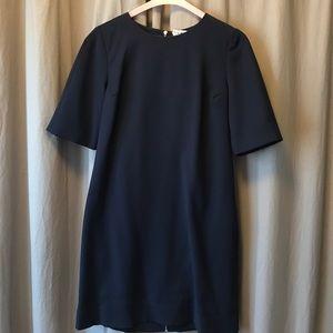 Gap navy blue shift dress.