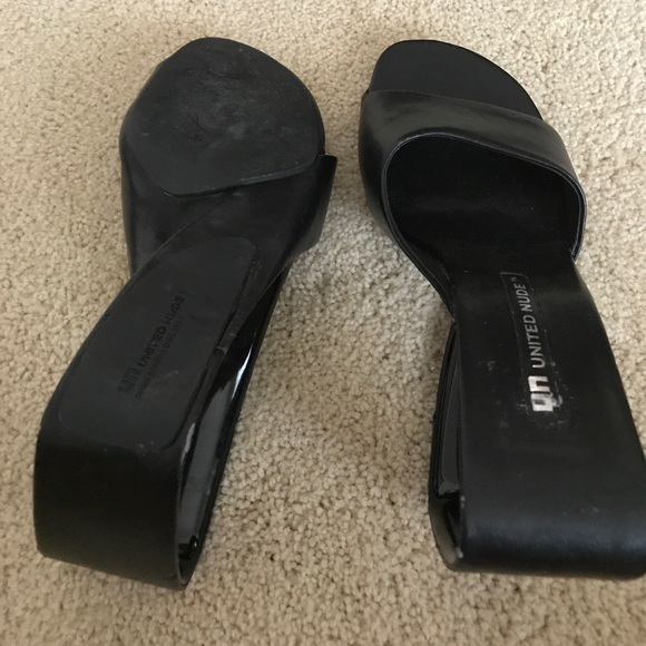 United Nude Shoes - United nude black shoes