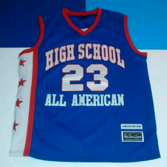 best service 4ed93 2a7a1 Lebron James High School Legends *23* Jersey