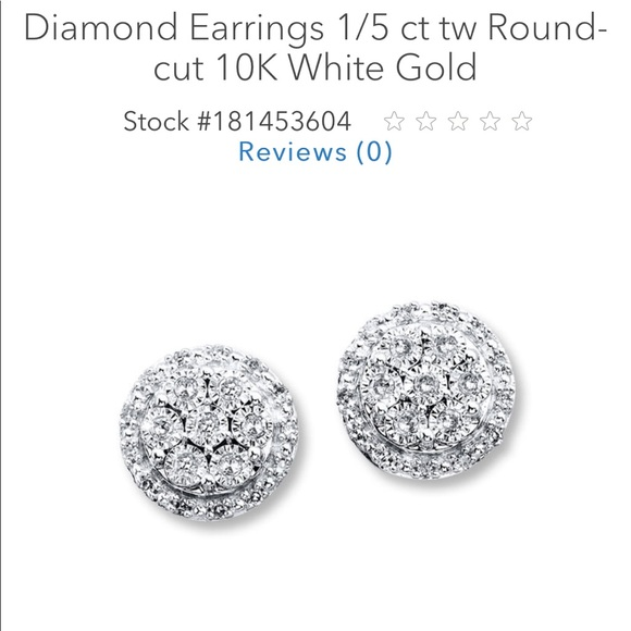Kay Jewelers Jewelry Key Diamond Earrings 15 In 10 Kart Gold Poshmark