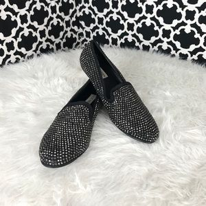 🆕LISTING Steve Madden Black Bling Loafers