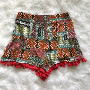 Pants - NWT tassel shorts