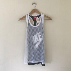 Nike mesh tank top xs new