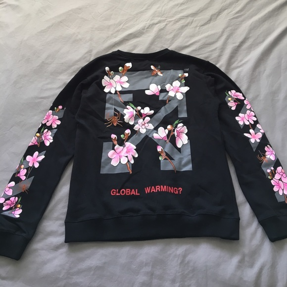 85bac9613c2 Off-white Global Warming crew neck