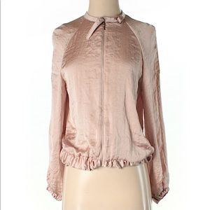 Zara W&B Collection pink jacket