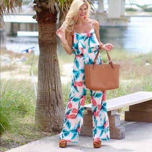 Other - Palm Print Two-Piece Set