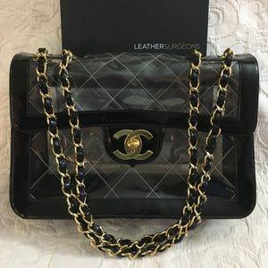 5b83677b3efc Women Chanel Clear Bag on Poshmark